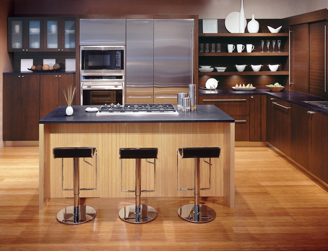 Brown kitchen appliances Photo - 4