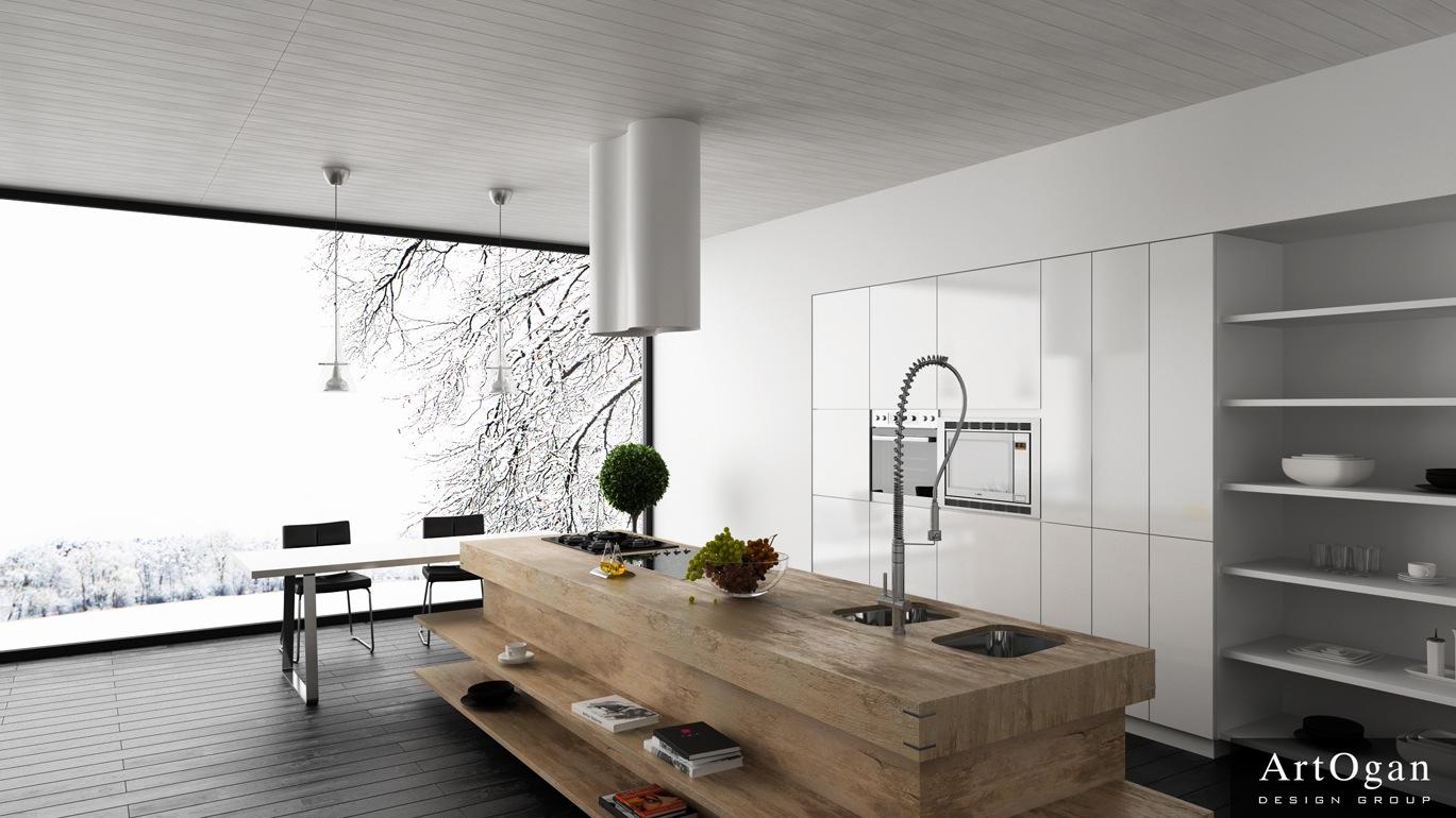 Butcher block kitchen island     Kitchen ideas