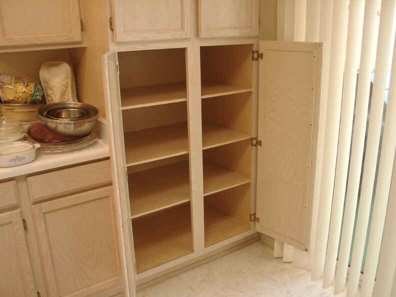 Cabinet pull out shelves kitchen pantry storage Photo - 12