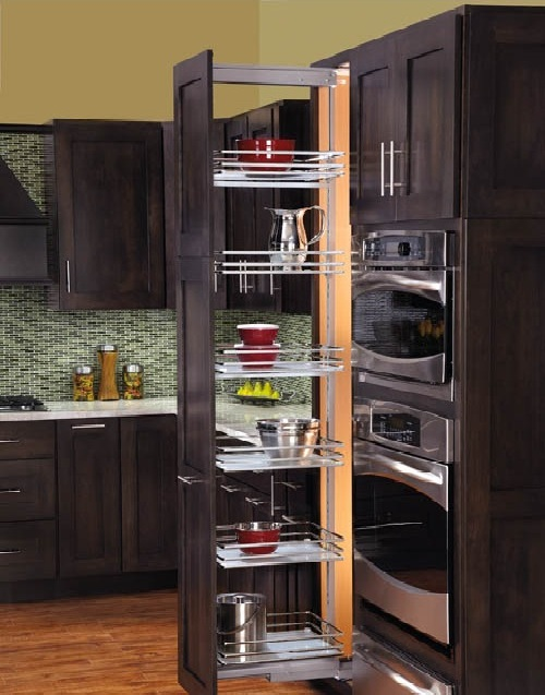 Cabinet Pull Out Shelves Kitchen Pantry Storage Photo 10