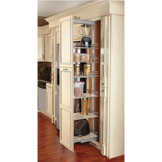 Cabinet Pull Out Shelves Kitchen Pantry Storage Photo U2013 8