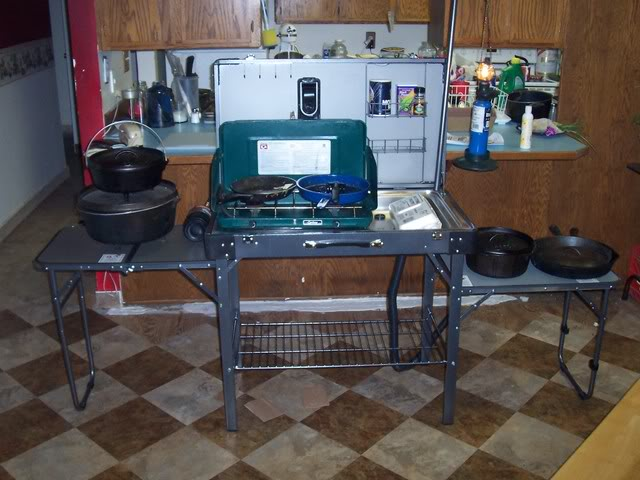 Camp Kitchen With Sink Photo 5