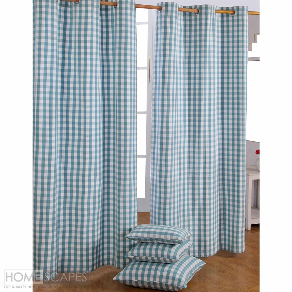 Checkered kitchen curtains | | Kitchen ideas
