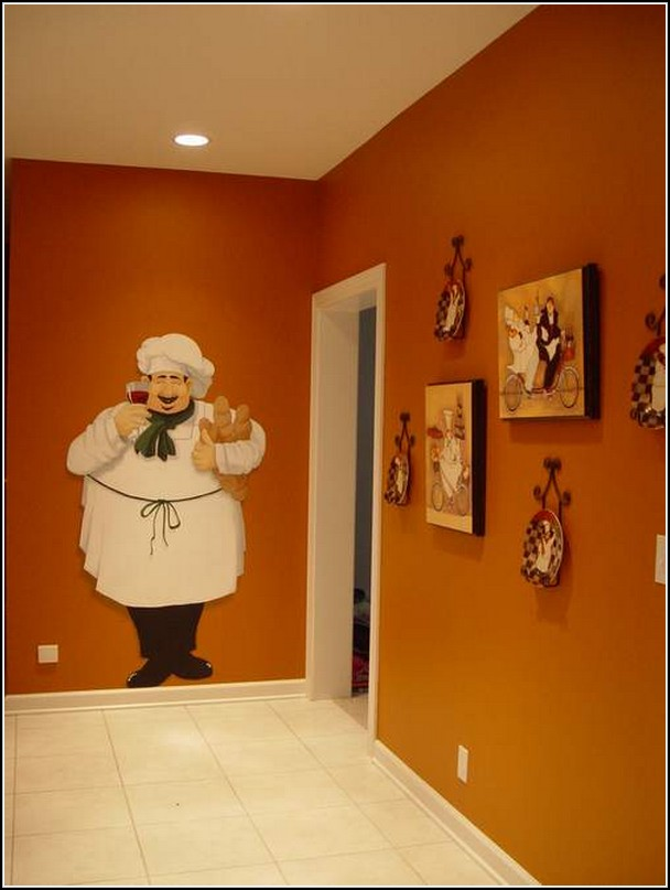 chef themed kitchen decor photo 2 kitchen ideas - Kitchen Chef Decorations