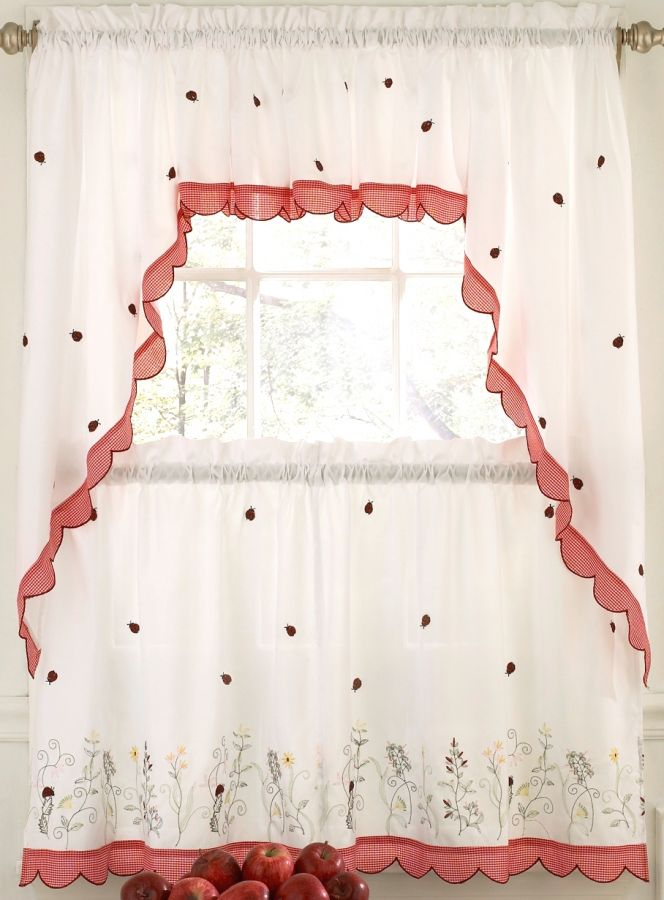 Cherry Kitchen Curtains Ideas