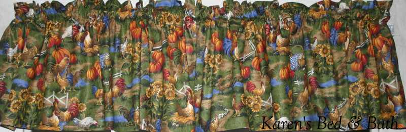 Kitchen Curtains chicken kitchen curtains : Chicken kitchen curtains | Kitchen ideas