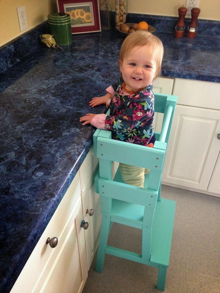 Child kitchen helper stool Photo - 9