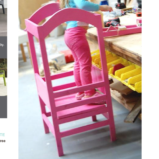 Child kitchen helper stool photo 10 kitchen ideas for Kitchen helper stool