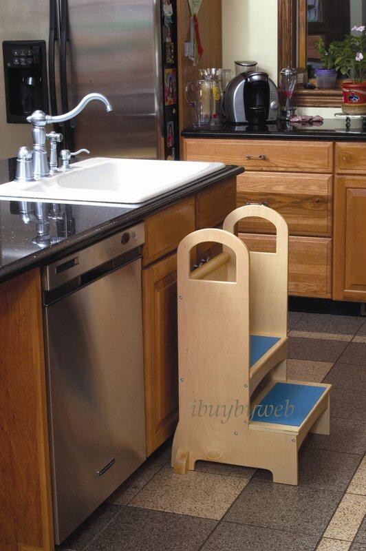 Child kitchen helper stool Photo - 2