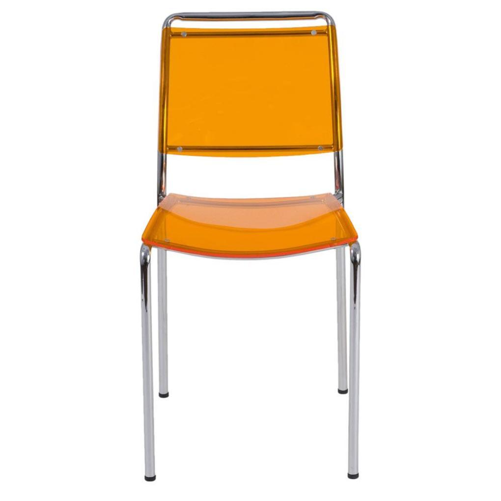 Chrome kitchen chairs Photo - 8
