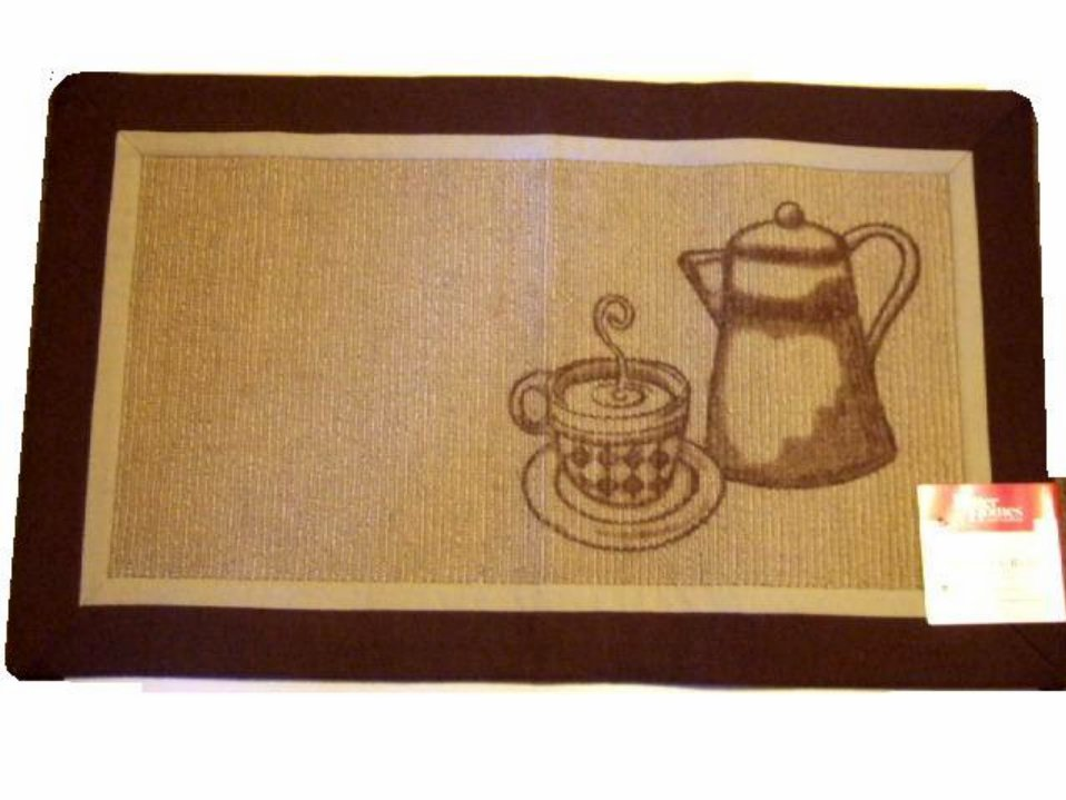 10 Photos To Coffee Themed Kitchen Rugs
