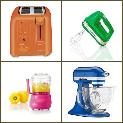 Colored small kitchen appliances Photo - 12