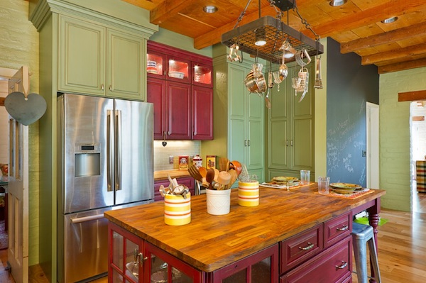 Colorful kitchen chairs Photo - 10