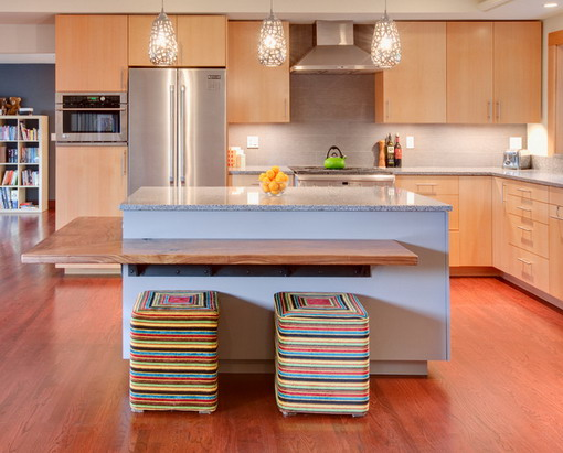 Colorful kitchen chairs Photo - 5