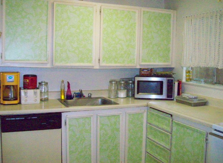 Contact paper for kitchen cabinets Photo - 1