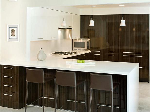 Contemporary kitchen counter stools Photo - 1