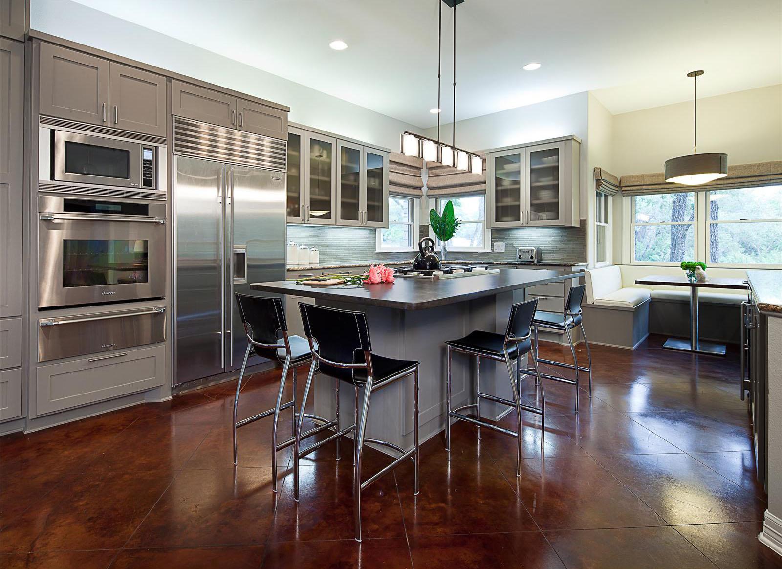 Contemporary kitchen counter stools Photo - 3