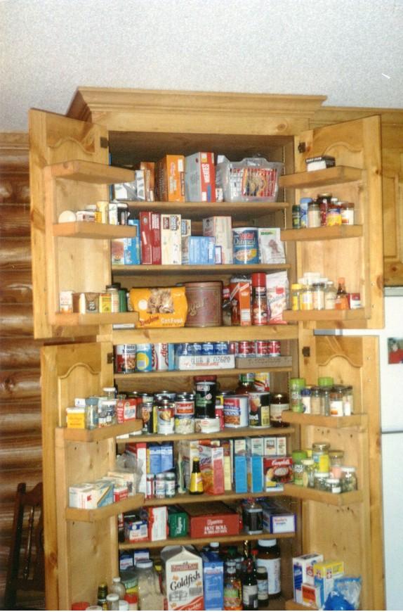 Corner kitchen pantry cabinet Photo - 1