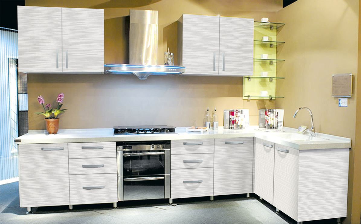 Corner kitchen pantry cabinet Photo - 12