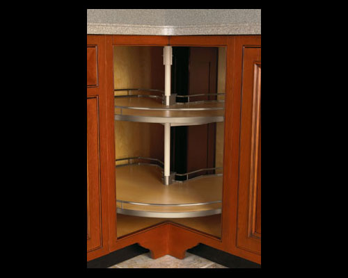 Corner kitchen pantry cabinet Photo - 4
