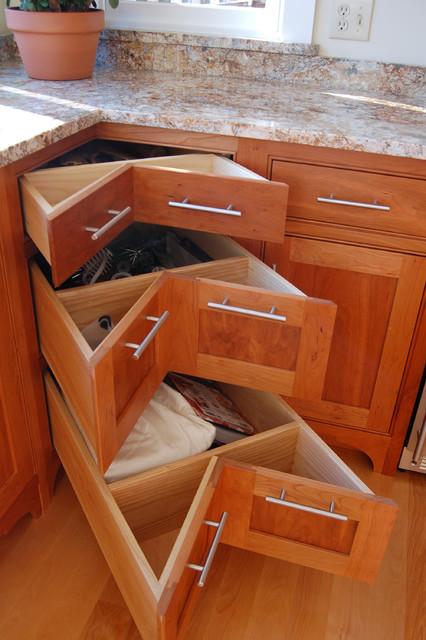 Corner kitchen pantry cabinet Photo - 5