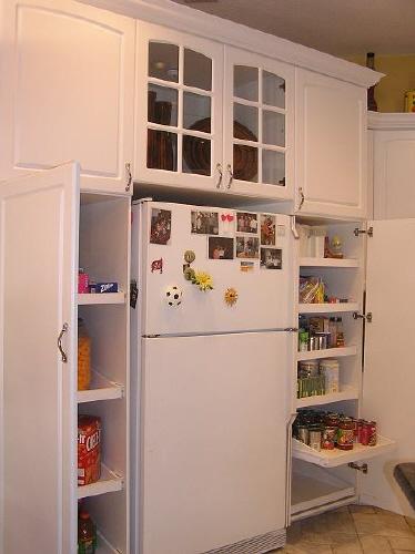 Corner kitchen pantry cabinet Photo - 8