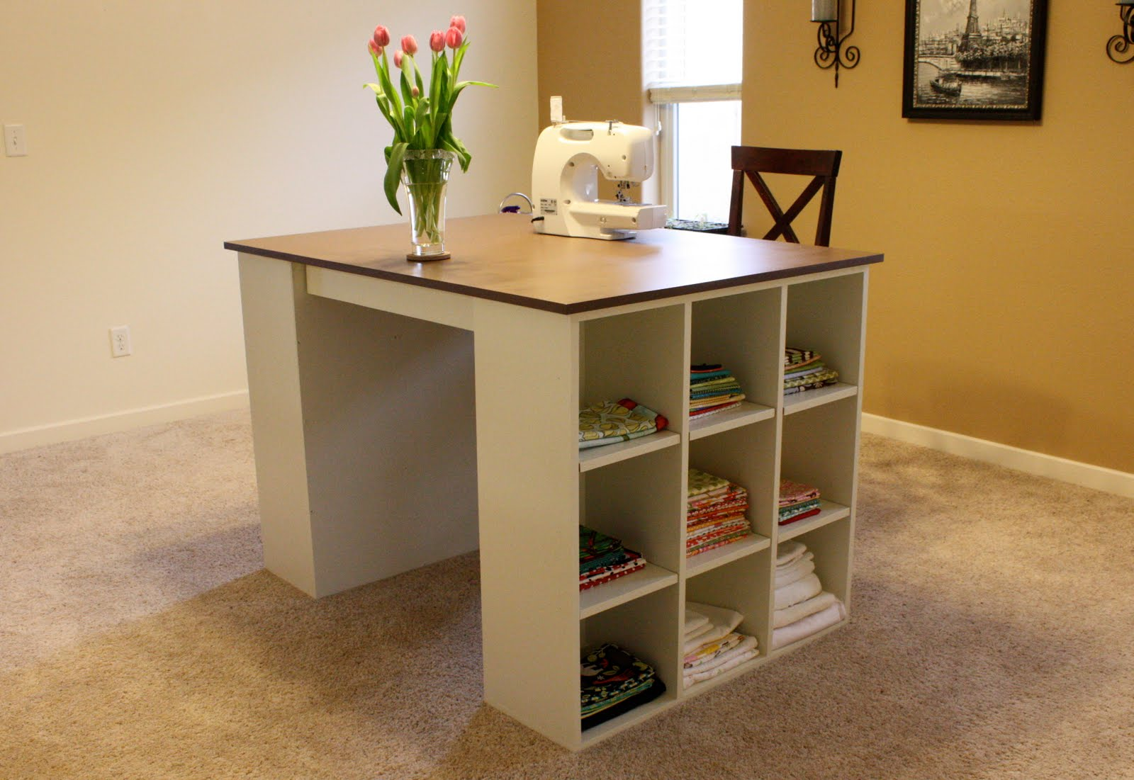 Craft table with storage costco table designs craft table with storage costco designs solutioingenieria Choice Image