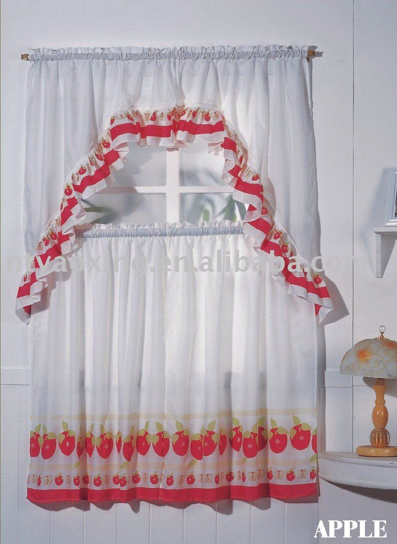 Other Photos To Cotton Kitchen Curtains