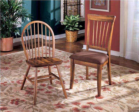 Country kitchen chairs Photo - 9