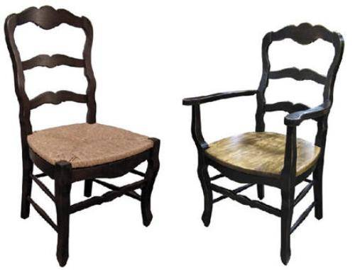 Country kitchen chairs Photo - 5