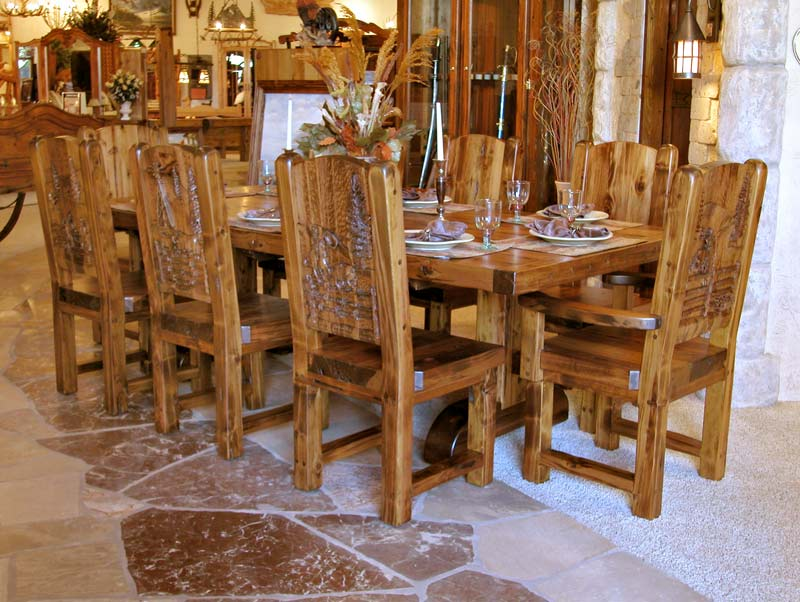 Country kitchen chairs Photo - 6