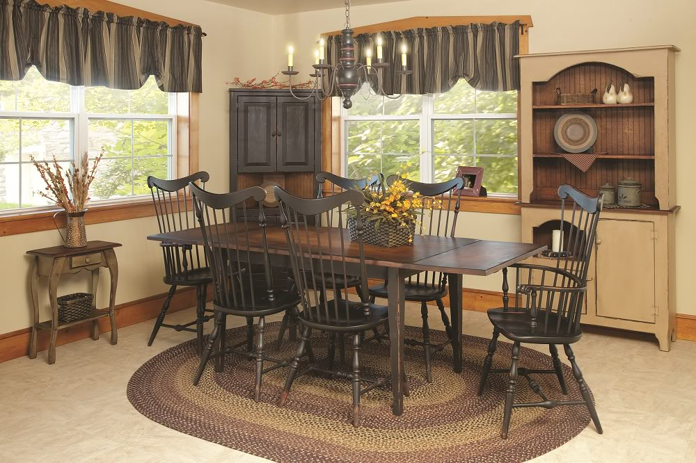 Country kitchen chairs Photo - 8