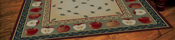 Apple Kitchen Rug Home Decor