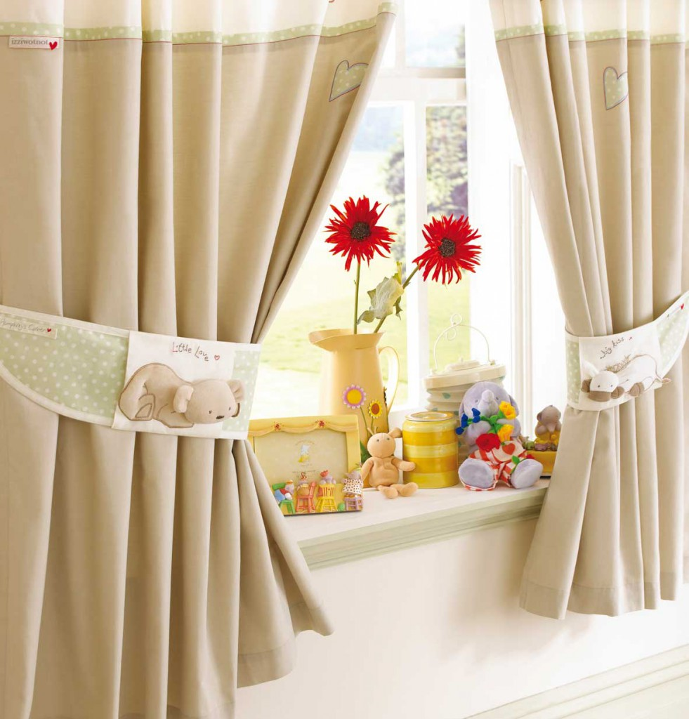 Как оригинально украсить шторы своими руками? (20 фото) 1