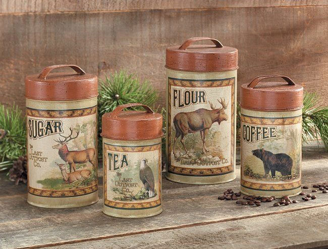 10 Photos To Decorative Canisters Kitchen