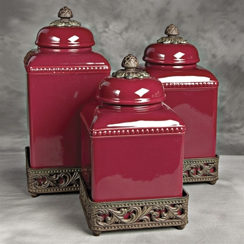 Decorative Kitchen Canister Sets Photo 2