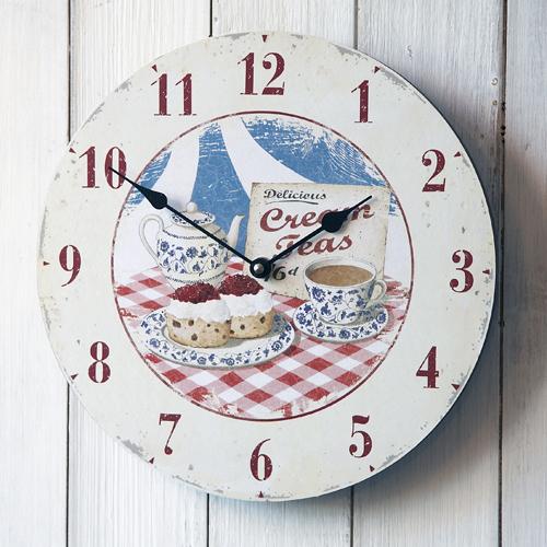 Decorative kitchen wall clocks Photo 2 Kitchen ideas