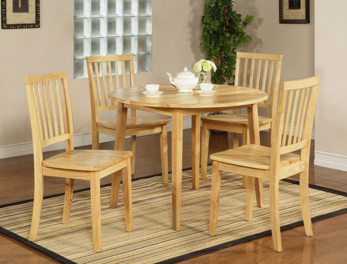 Drop leaf kitchen tables for small spaces photo 10 for Kitchen chairs for small spaces