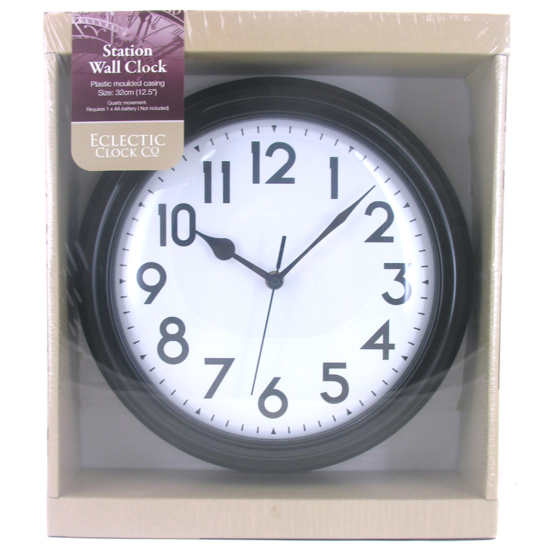 Electric kitchen wall clock Photo - 11