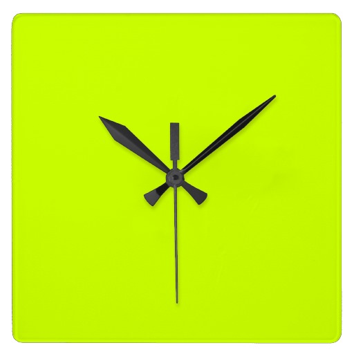 Electric kitchen wall clock Photo - 2