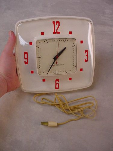 Electric kitchen wall clock Photo - 7