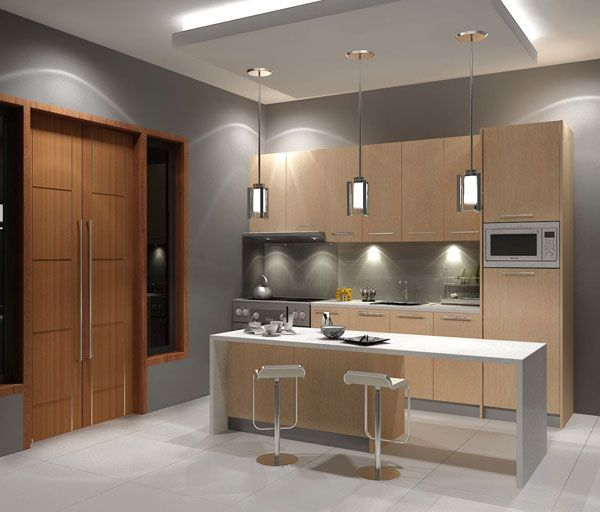 Espresso kitchen cabinet Photo - 10