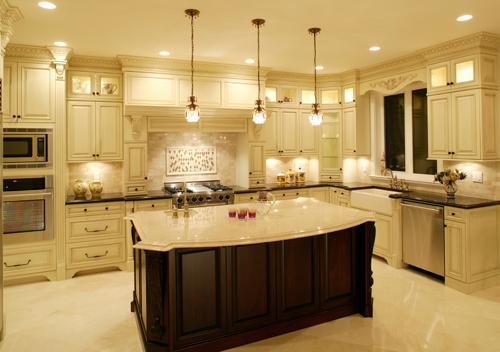 Espresso kitchen cabinet Photo - 4