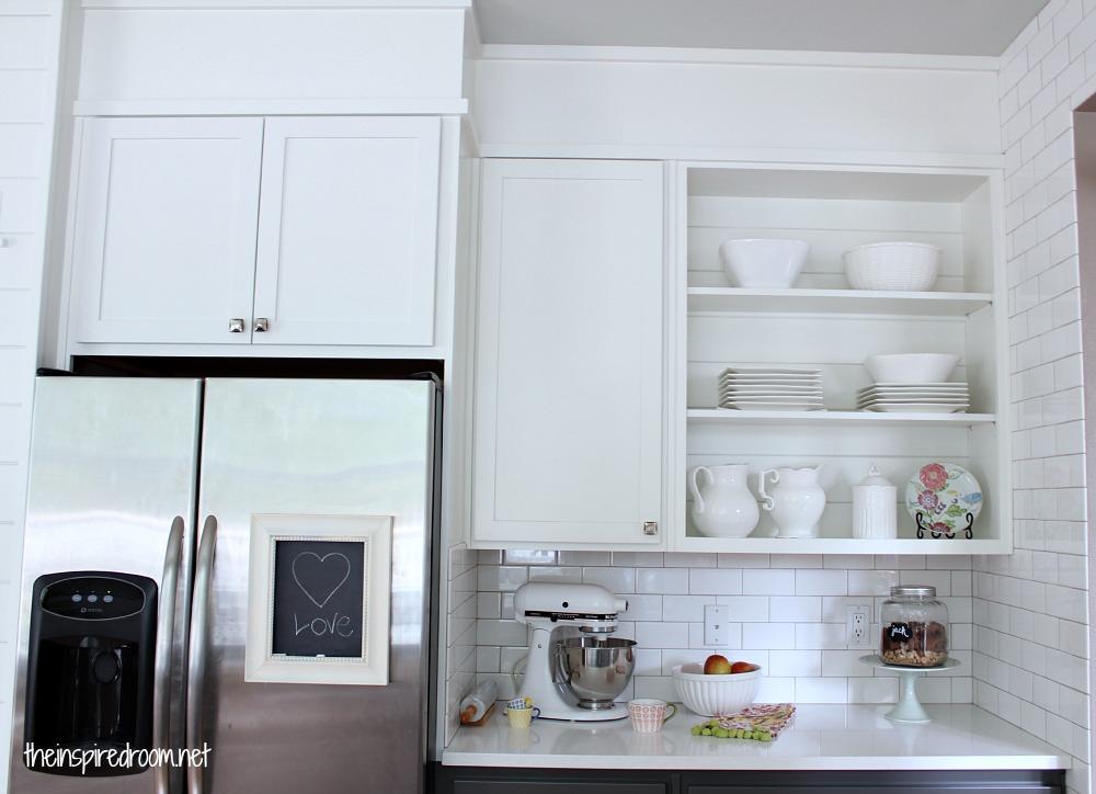Espresso kitchen cabinet Photo - 7