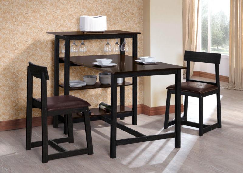 Espresso Kitchen Table