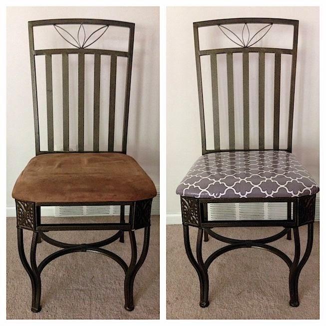 Fabric kitchen chairs Photo - 10