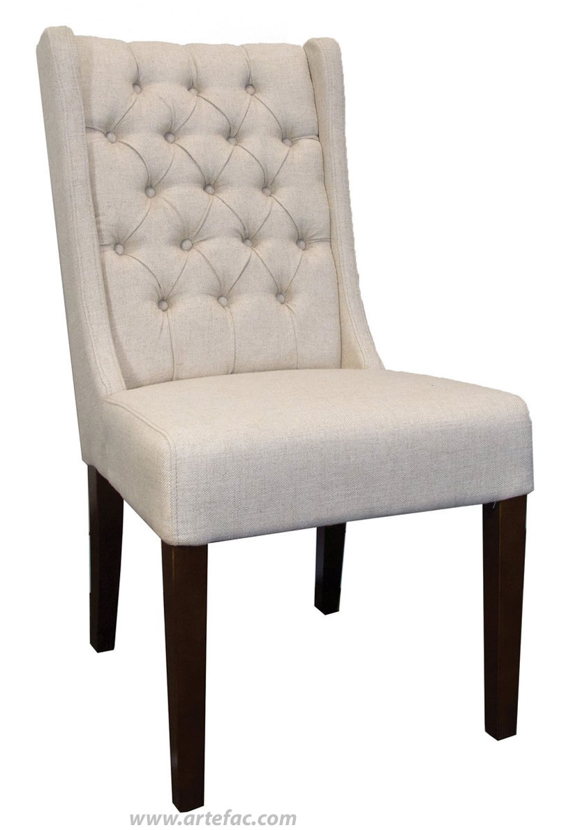 Fabric kitchen chairs Photo - 3