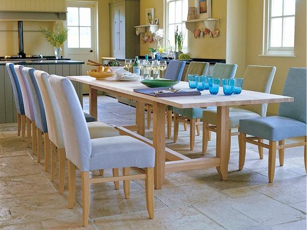 Fabric kitchen chairs Photo - 5