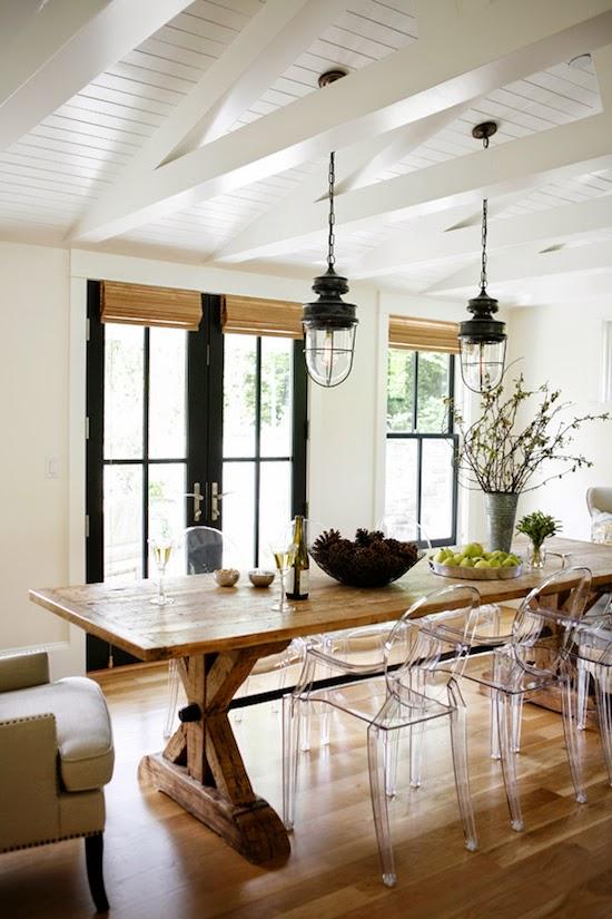 Farmhouse kitchen chairs Photo - 9