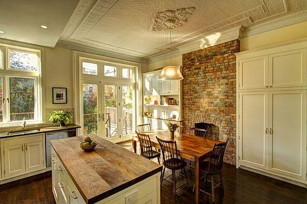 Farmhouse kitchen chairs Photo - 7